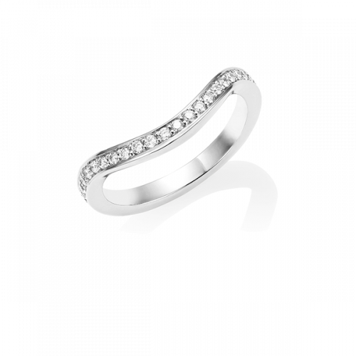 Diamond Keeper Eternity Ring, 18ct White Gold