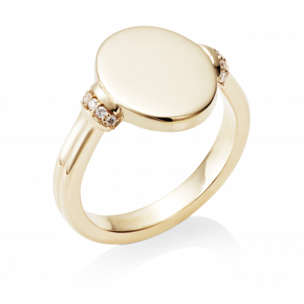 Diamond Era Ring 18ct Yellow Gold