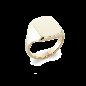 Cushion Signet Ring