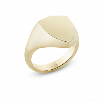 Shield Heater Signet Ring