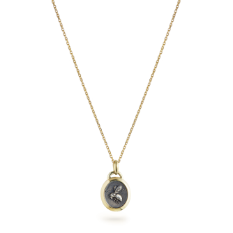18ct Yellow Gold Small Bumble Bee Pendant