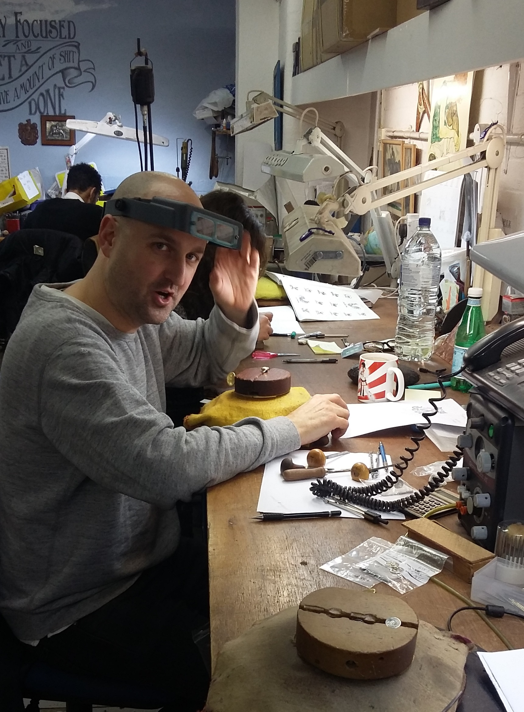 INSIDE THE REBUS WORKSHOP: AN INTERVIEW WITH A HAND ENGRAVER